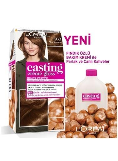 L'Oréal Paris L'Oréal Paris Casting Crème Gloss Saç Boyası - 603 Altın Karamel Renksiz